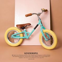 #magazine #cover #veloretti #bicycle #design #amsterdam #mintymint #mint #balancebike #volkskrant