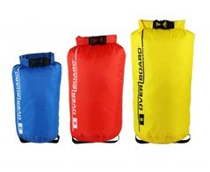 Waterproof dry bags are perfect for keeping your belongings dry in wet environments - whether that's white water rafting or walking to your hotel in a downpour