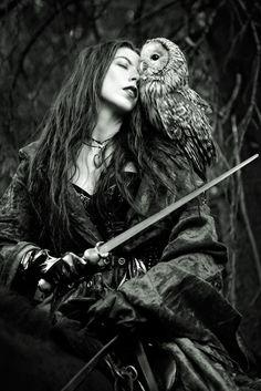 With sword and an owl by Askar Ibragimov on 500px