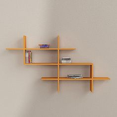 Estuary Wall Shelves Orange, 108€, now featured on Fab.