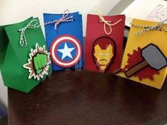 12 ideas of Marvel avengers party candy bags Hulk Birthday, Avengers Birthday, Superhero Birthday Party, 4th Birthday Parties, Boy Birthday, Wonder Woman Birthday, Costume Super Hero, Hulk Party, Candy Party