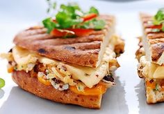 30 different ways to make a grilled cheese: This is a perfect meal to please a variety of preferences at one time! Let the kids all pick which fillings they want/don't want and grill up custom sandwiches. Mine would be filled with tomato, gruyere, and bacon. What's your filling of choice?