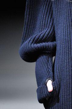 Yohji Yamamoto Thumb Loop Sweater FW10