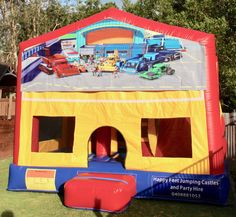 We offer free delivery within a radius of Cooroy & provide quality jumping castles to Gympie Council and Sunshine Coast Council residents. Party Hire, Bob The Builder, Obstacle Course, Basketball Hoop, Sunshine Coast, Sun Protection, Castles, Book, Happy