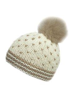 Hat Knitting Kit: British wool yarn and hat knitting pattern
