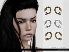 Collide Lip Piercing by LeahLillith - Sims 3 Downloads CC Caboodle