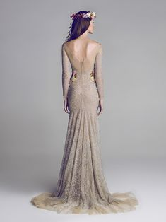 i love nontradition wedding dresses. I would wear this in a heart beat. hamda al fahim wedding couture