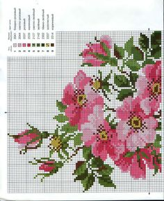 Cross stitch (part Cute Cross Stitch, Cross Stitch Bird, Cross Stitch Borders, Cross Stitch Flowers, Cross Stitch Charts, Cross Stitch Designs, Cross Stitching, Cross Stitch Embroidery, Embroidery Patterns