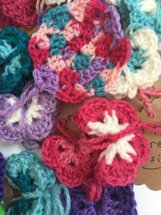 frans crochet mandalas hearts butterflies 8