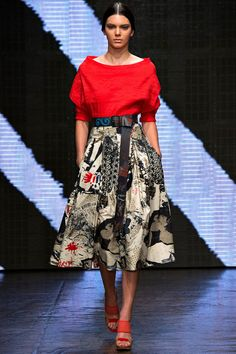 Donna Karan Spring 2015 RTW