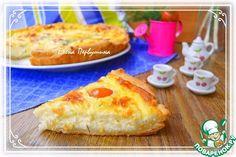 Пирог с творогом и помидорами черри - кулинарный рецепт
