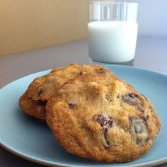Michelle Obamas Chocolate Chip Cookies -get the recipe and read First Lady Cookie Toss-Up Part II: Michelle Obama by Michael Procopio