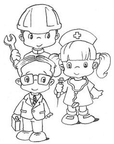 International Labor Day Coloring Pages Nurse