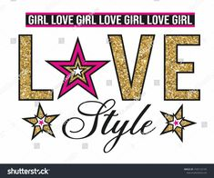 Love Slogan, Fc 1, Silhouette School, Love Illustration, Galaxy Wallpaper, Girls In Love, Singing, Girl Fashion, Pattern