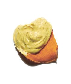 Curried Yogurt Dip. mix together the greek yogurt, curry powder, lime juice, ½ teaspoon salt, and ¼ teaspoon pepper. Chill for at least 1 hour before serving. Serve with the sweet potato chips. Could also use roasted sweet potato slices...no extra oil