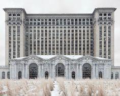 Фотографии Детройта от Дженнифер Гарзы-Куен (1)