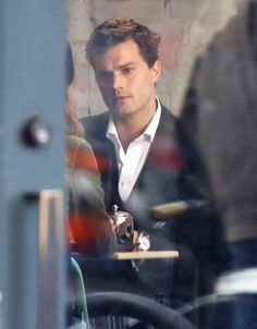 "First Photos Of Dakota Johnson And Jamie Dornan Filming ""50 Shades Of Grey"" @fiftyshadesmovie #FiftyShades #FSOG"
