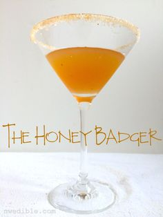 Chipotle, bourbon, honey...here's a cocktail for those times you need to find YOUR inner honey badger.