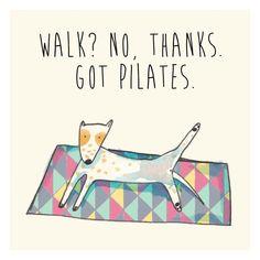 Pilates - illustration by Little bubble