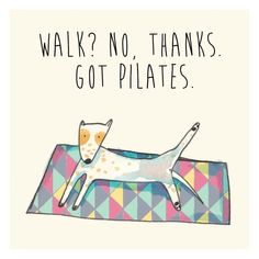 Pilates - illustration by Little bubble