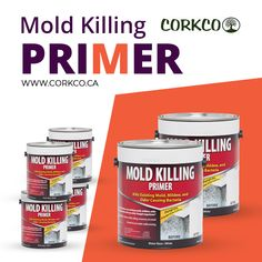 Corkco is leading Construction Company in Canada that provides water resistant Mold Killing Primer at reasonable rates. Building Construction Materials, Ottawa, Canada, Water, Gripe Water
