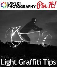 How to Create Impressive Light Graffiti http://www.expertphotography.com/hidden-camera-mirror-photo-trick-photoshop