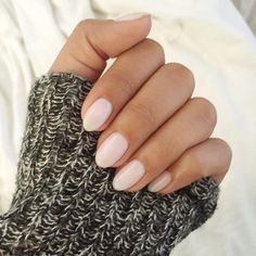Clean Almond/Oval shaped nails. OPI Mod About You Gel #opi #gelnails #modaboutyou