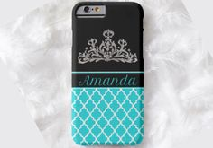 CROWN MOROCCAN Cell Phone Case, iPhone 6 case, Note 4 case, leopard phone case, iPhone 6 plus cell phone case, iPhone 6 plus case, S6 by DesignsbyLiv15 on Etsy