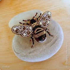 """Брошь """"Пчела"""" фото 2"""