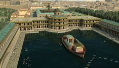 """Awe-inspiring 3D animations showcase the sheer opulence of Domus Aurea - Nero's """"Golden House"""", in its peak after Rome's great fire."""