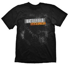 Battlefield Hardline Logo Black S Battlefield Hardline breaks away from the military setting and brings a new setup: Police versus Criminals. This stylish t-shirt shows theLogo from the action packed video game Battlefield Hardline. 1 http://www.MightGet.com/march-2017-1/battlefield-hardline-logo-black-s.asp