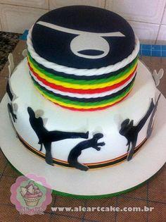 AlêArt Cake Design: Capoeira