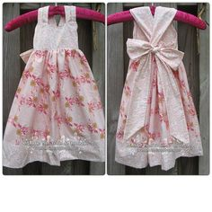 Adorable dress custom made by MaddiePiesBoutique on Etsy, $34.00
