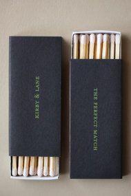 ooooohhhh custom matchbooks