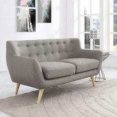 Remark Loveseat - Overstock™ Shopping - Great Deals on Modway Sofas & Loveseats