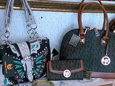 Purses at Goldy's Goodies