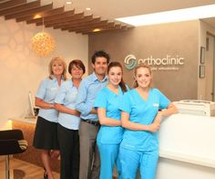 Our dedicated team at #orthoclinic #orthodontist #team #braces
