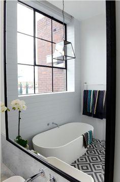 The Block Glasshouse - master bathroom - Darren and Deanne - get the look #theblock #theblockshop