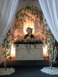 Altar of Repose, Holy Thursday