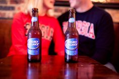 Bud Light and a UGA couple
