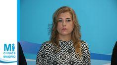 Mónica Medina Santos, especialista en cirugía ortopédica y traumatología y directora médica de la nueva clínica Madrid Norte, durante la rueda de prensa de la inauguración