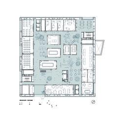 Research Center ICTA-ICP · UAB,Ground Floor Plan