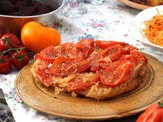 Tarte Tatin med tomat | Recept.nu