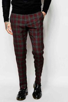 Mens winter pant 2016 tartan