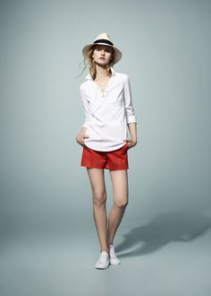 Lacoste presents the New Collection for Unconventional Chic Women. Lacoste Spring-Summer 2012.