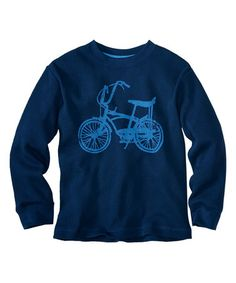 Love this Navy Bicycle Thermal - Infant, Toddler & Boys on #zulily! #zulilyfinds