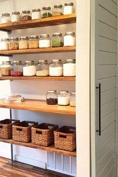 Genius Kitchen Storage Ideas We're Stealing from Fixer Upper ...