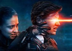 X-Men Apocalypse: Sophie Turner (Jean Grey) and Tye Sheridan (Scott Summers, Cyclops)