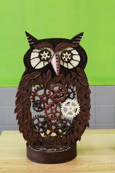 #steampunk owl