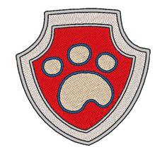 Pat'Patrouille - Badge Ryder (motif de broderie)